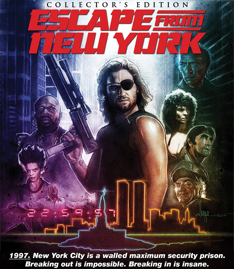 Escape from NY Blu-ray