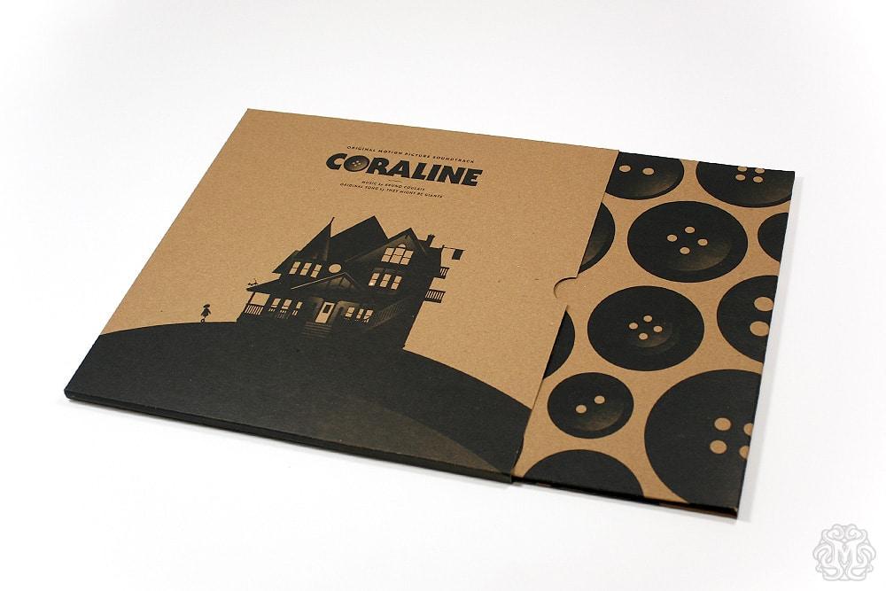 Coraline Soundtrack Record Sleeve