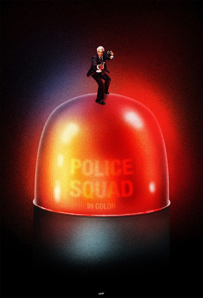 Police Squad TV Show Poster