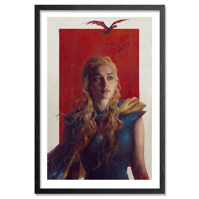 Daenerys Game of Thrones Portrait from Sam Spratt