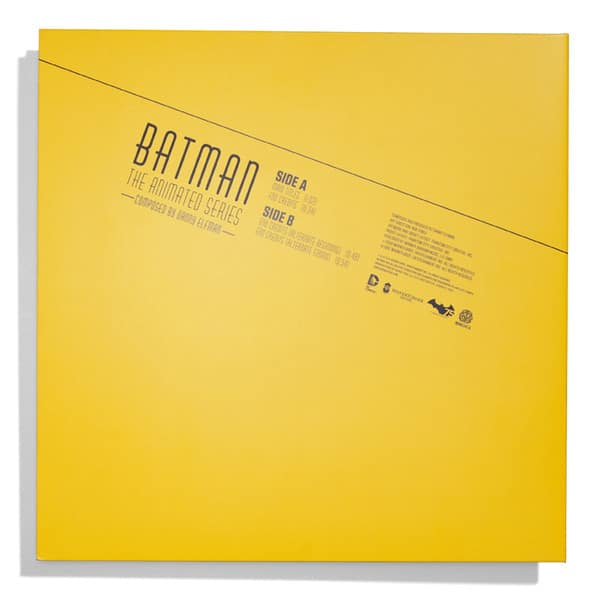Batman LP Back