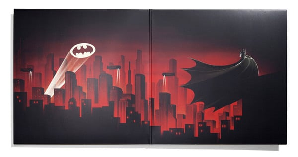 Batman LP Gatefold