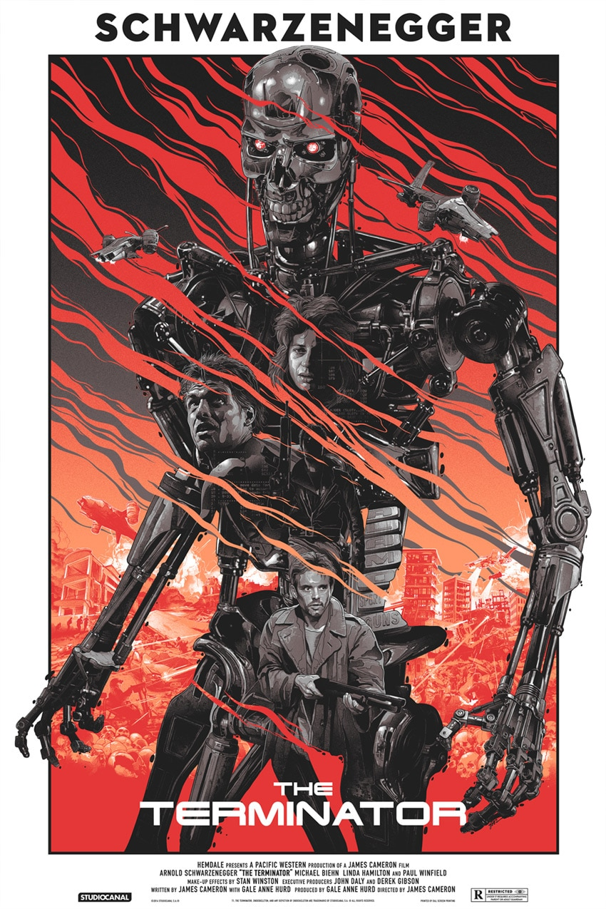 The Terminator Movie Poster Variant