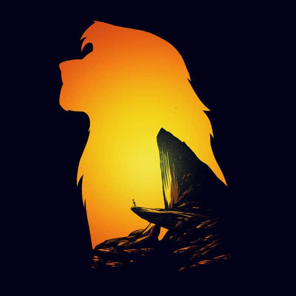 lion king print set