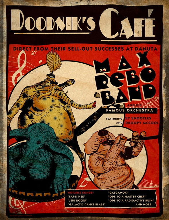 Doodniks Cafe Poster