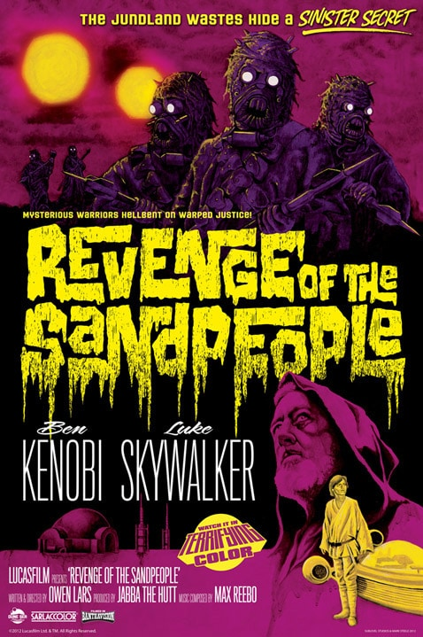 Revenge of the Sand People Poster