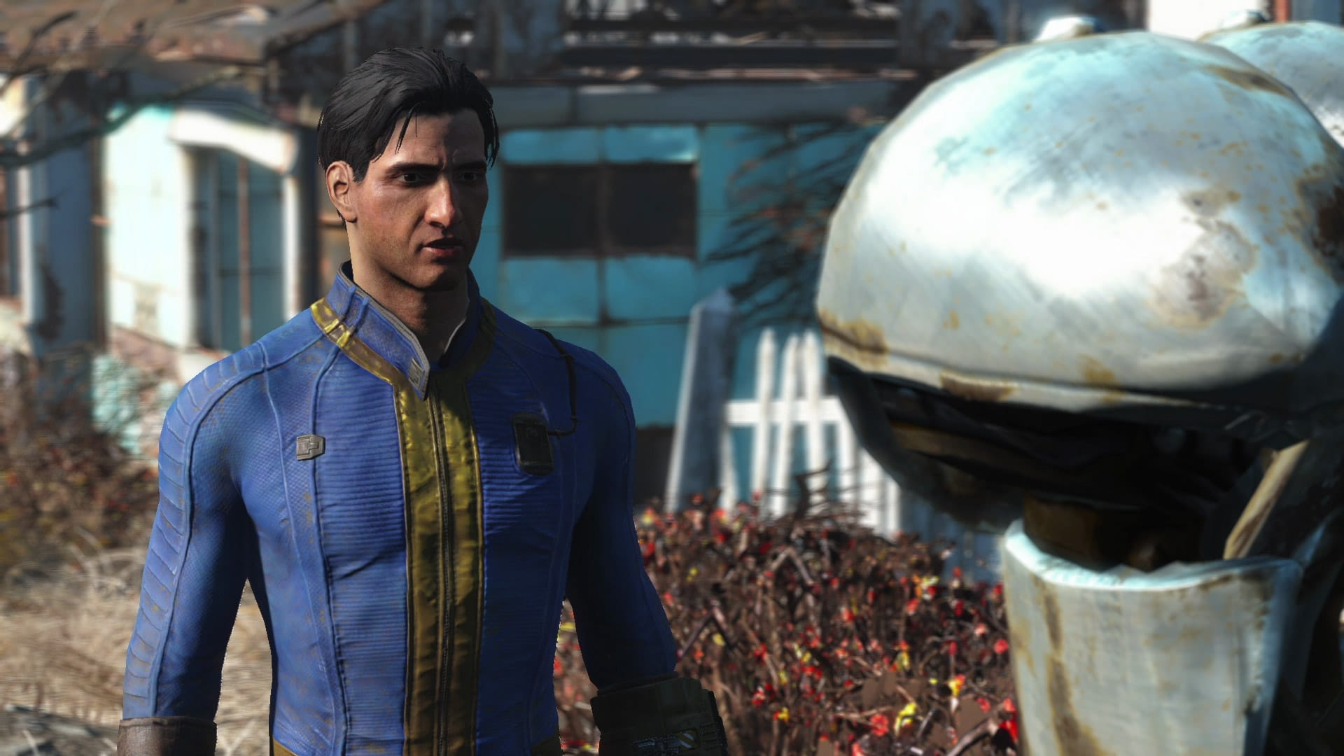Fallout 4 Character Gameplay Screenshot