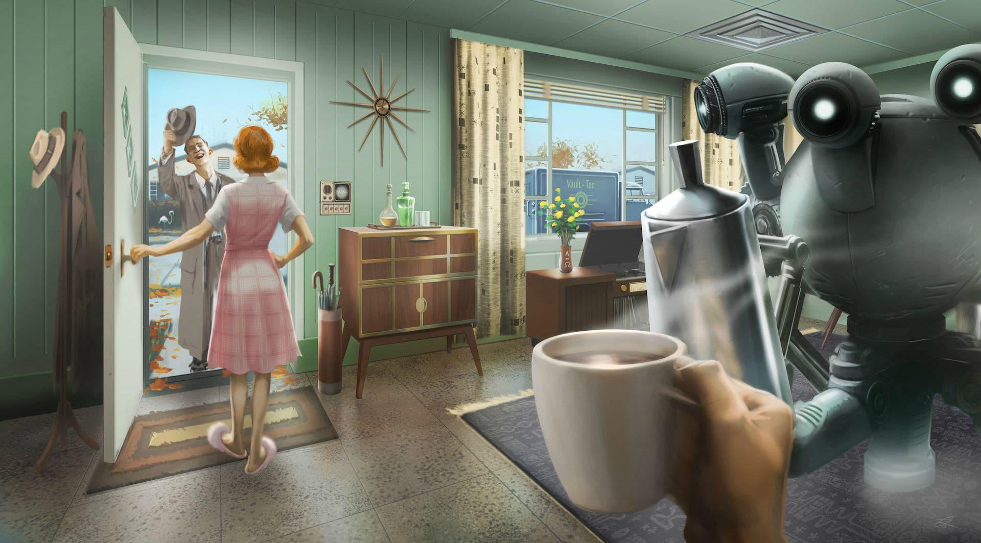 Fallout 4 Vault Salesman