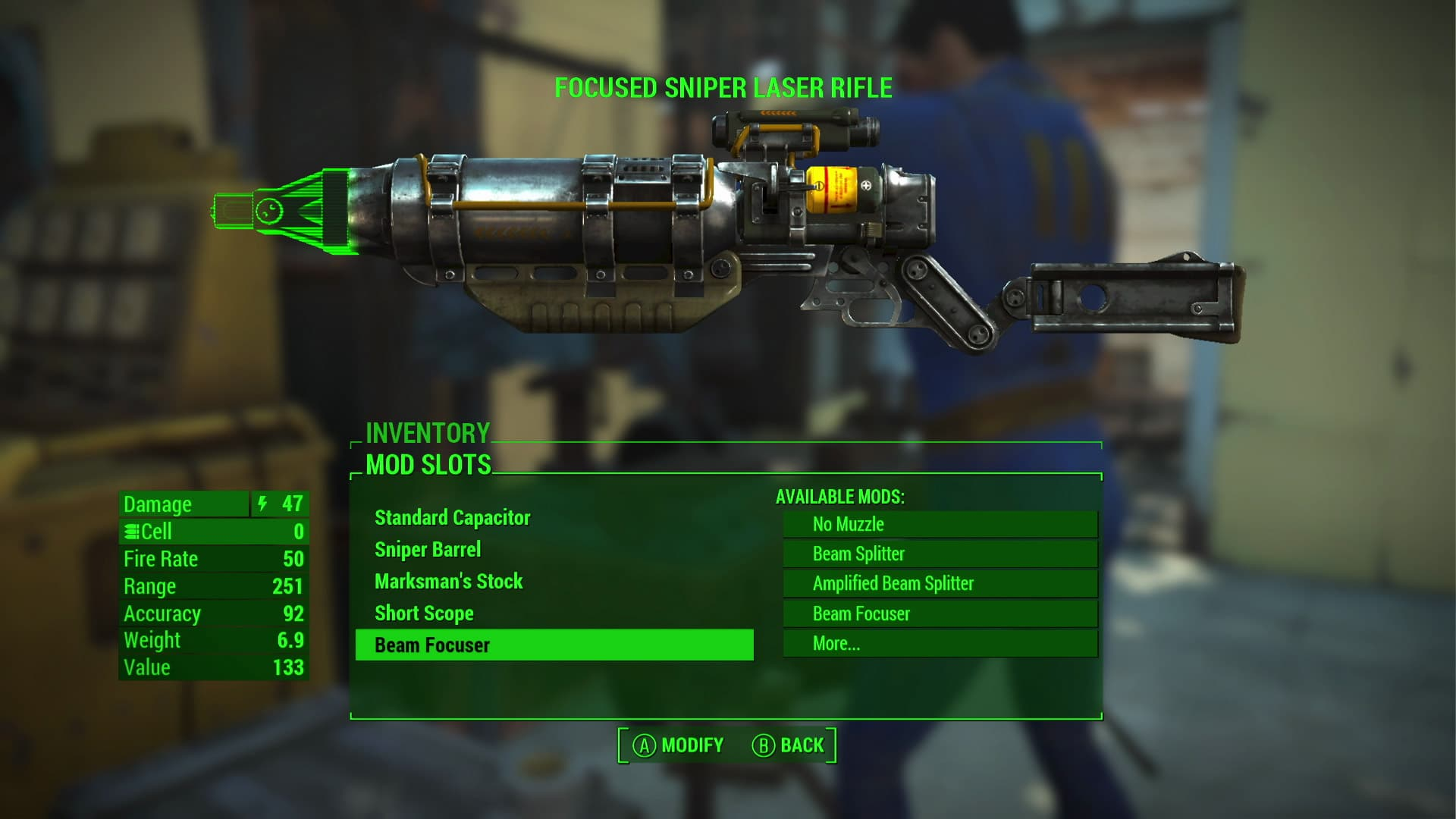 Fallout 4 Custom Weapon Build System