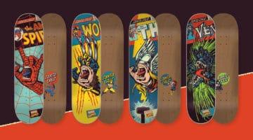 Santa Cruz Marvel Skateboards