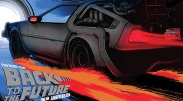 Back to the Future Comic Con Prints