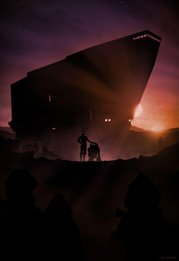 Droids Star Wars Print