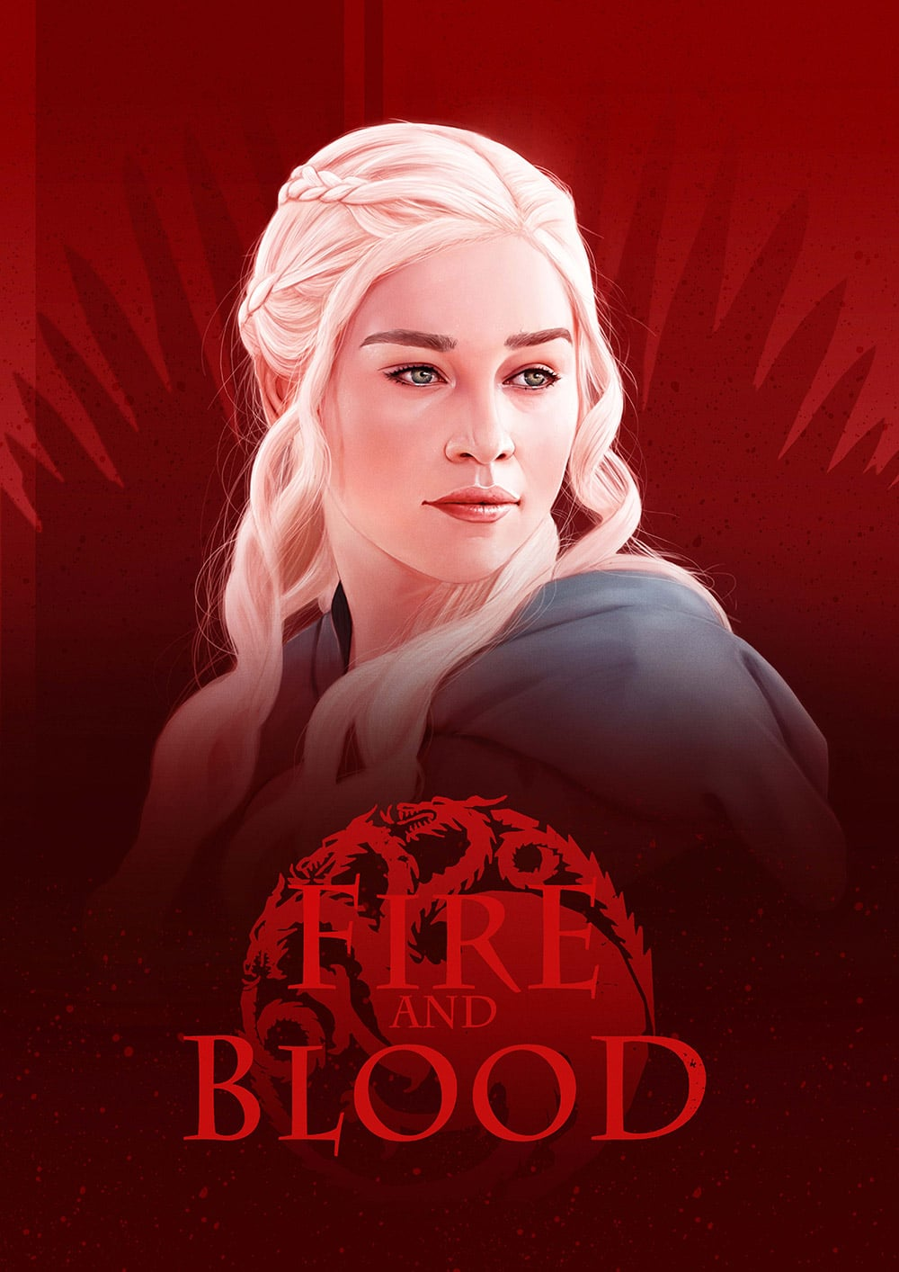 Daenerys Game of Thrones Print