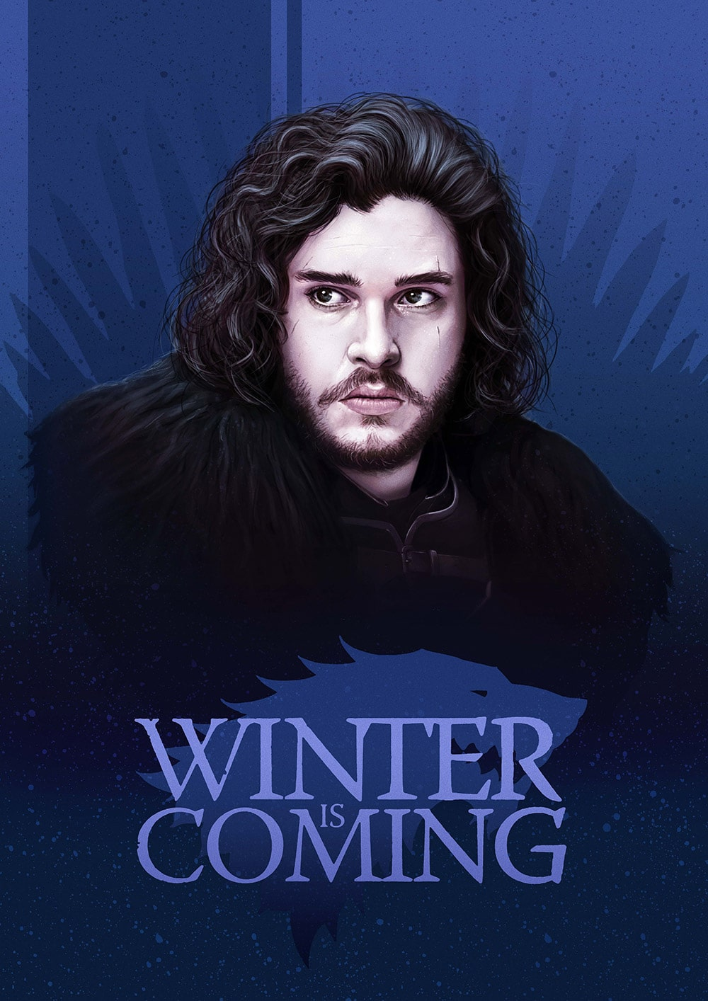 Jon Snow Game of Thrones Print