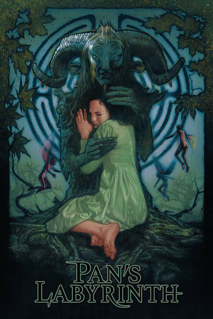 Pan's Labyrinth Titled Print By Drew Struzan