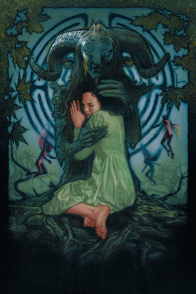 Pan's Labyrinth Art Print By Drew Struzan